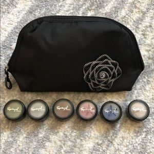 Other - Brand Bundle of 6 New Eye Shadow and make-up bag!